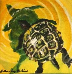 """Slow and Steady"" original fine art by JoAnne Perez Robinson"