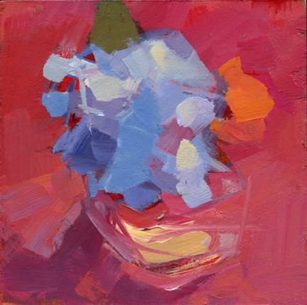 """""""1508 Square Jar"""" original fine art by Lisa Daria"""