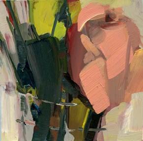 """""""1120 Three Coats"""" original fine art by Lisa Daria"""