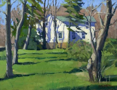 """It's spring"" original fine art by Kathy Weber"