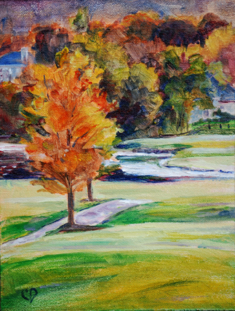 """Fall Colors"" original fine art by Carol DeMumbrum"