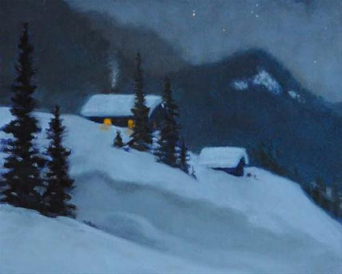 """Early Risers"" original fine art by Susan Matteson"