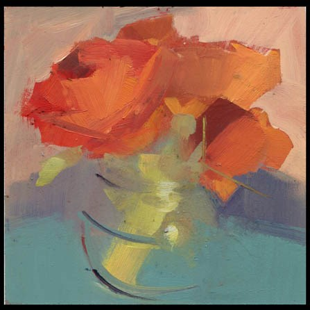 """2457 All Winter"" original fine art by Lisa Daria"