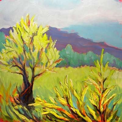 """Frazier Wetland"" original fine art by Pam Van Londen"