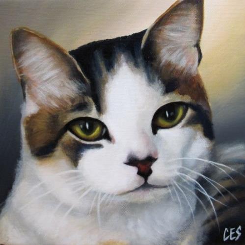 """""""Contemplation"""" original fine art by ~ces~ Christine E. S. Code"""