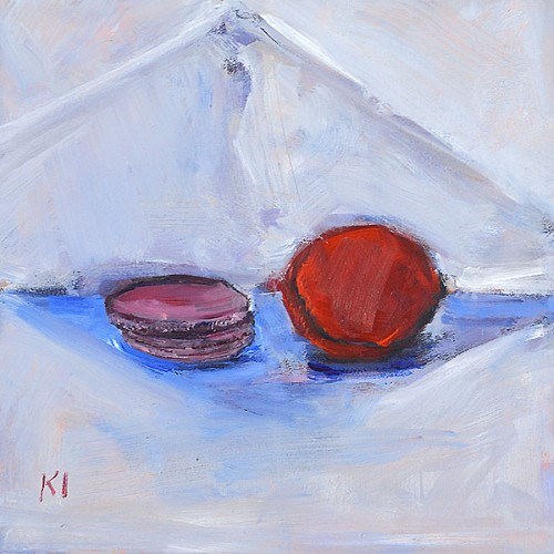 """French Macarons"" original fine art by Kevin Inman"