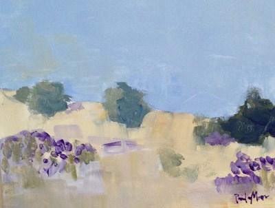 """Purple Wildflowers"" original fine art by Pamela Munger"