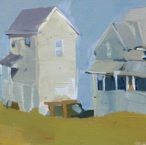"""End of the Street #982"" original fine art by Lisa Daria"