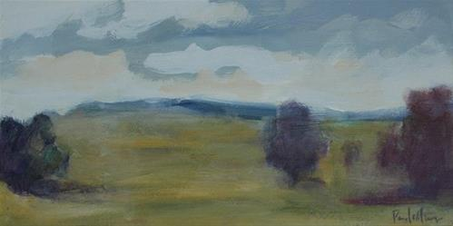 """Norwood Sky II"" original fine art by Pamela Munger"