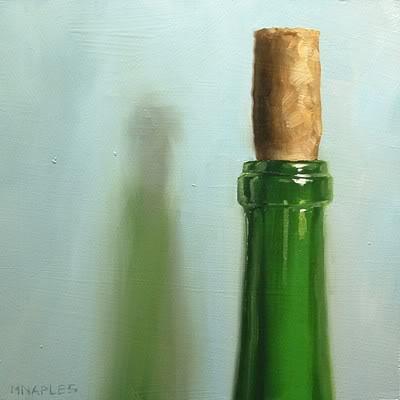 """Corked"" original fine art by Michael Naples"