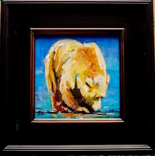"""""""ARTOUTWEST DIANE WHITEHEAD CHRISTMAS BUYS BEAR ART ANIMALS  Gift Ideas"""" original fine art by Diane Whitehead"""