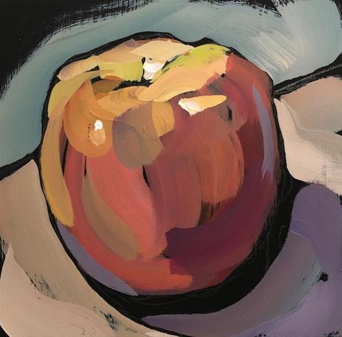 """Apple Light"" original fine art by Kat Corrigan"