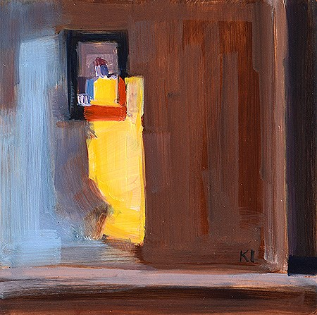 """""""Light in the Bedroom"""" original fine art by Kevin Inman"""