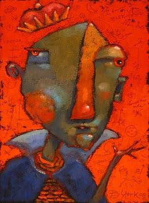 """""""Royal Poo-Bah"""" original fine art by Brenda York"""