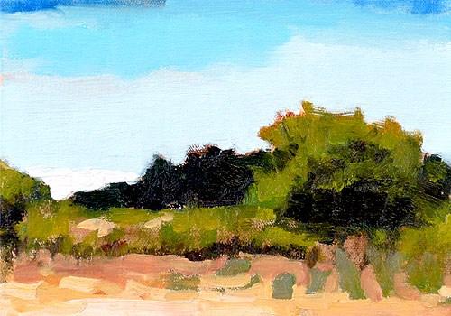 """Santa Ynez Valley Landscape Painting"" original fine art by Kevin Inman"