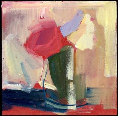 """2040 split"" original fine art by Lisa Daria"