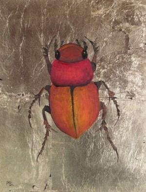 """Scarabidae Africana III"" original fine art by Pera Schillings"