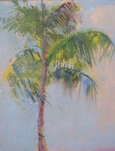 """Daytona Palm Landscape Paintings by Arizona Artist Amy Whitehouse"" original fine art by Amy Whitehouse"