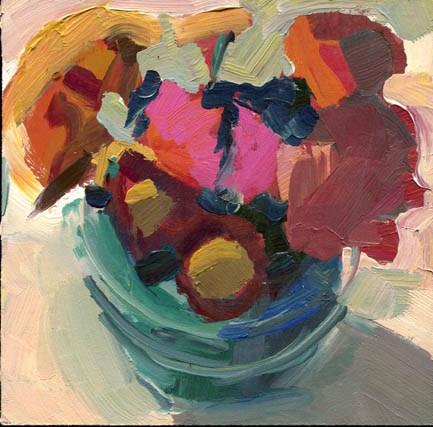 """1292 Gaslight"" original fine art by Lisa Daria"
