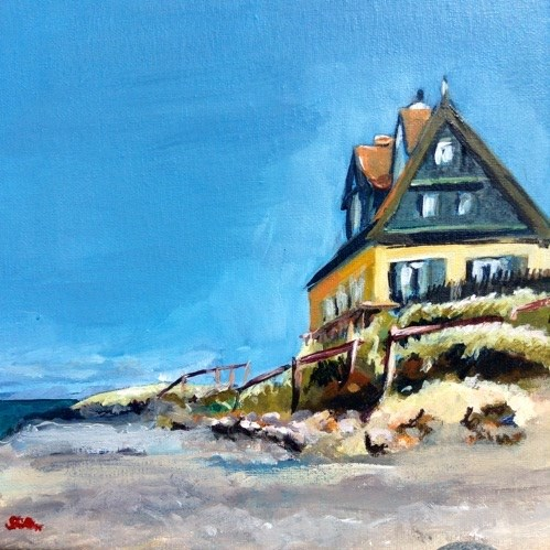 """1404 Gamle Skagen"" original fine art by Dietmar Stiller"