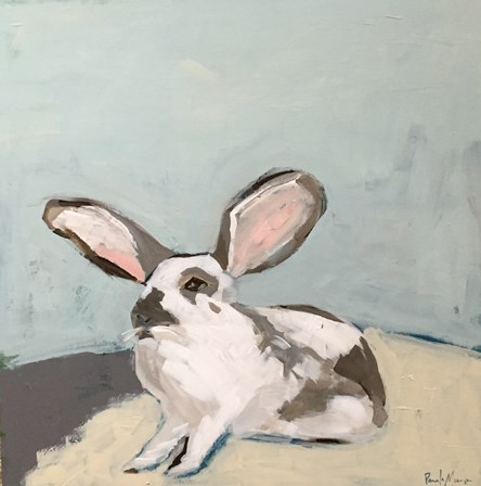 """""""Bun Bun"""" original fine art by Pamela Munger"""