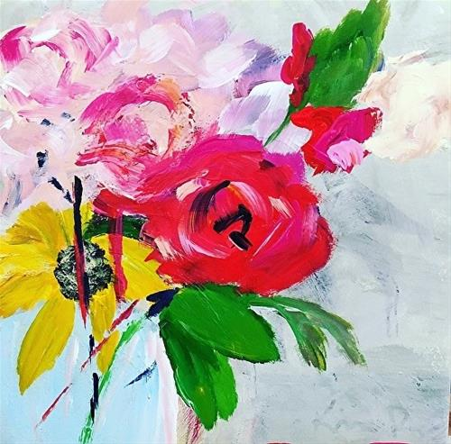 """Softness"" original fine art by Kimberly Balentine"