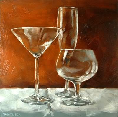 """""""Transparents"""" original fine art by Michael Naples"""