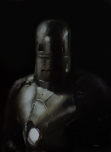 """""""Iron Man MK 1"""" original fine art by Neil Carroll"""