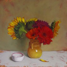 """""""Third Friday at 78th ST Studios, Gallery Plus +"""" original fine art by Diane Hoeptner"""