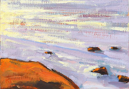 """Cabrillo Plein Air"" original fine art by Kevin Inman"