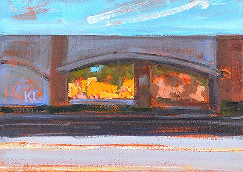 """""""Arches, Reflections"""" original fine art by Kevin Inman"""