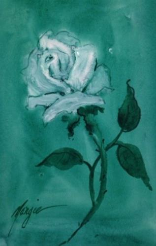 """Untitled"" original fine art by Margie Whittington"