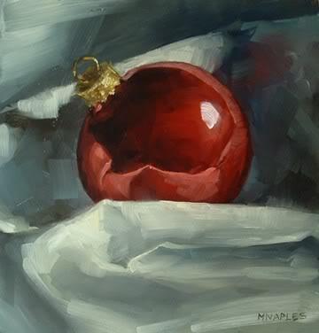 """""""Ornament"""" original fine art by Michael Naples"""