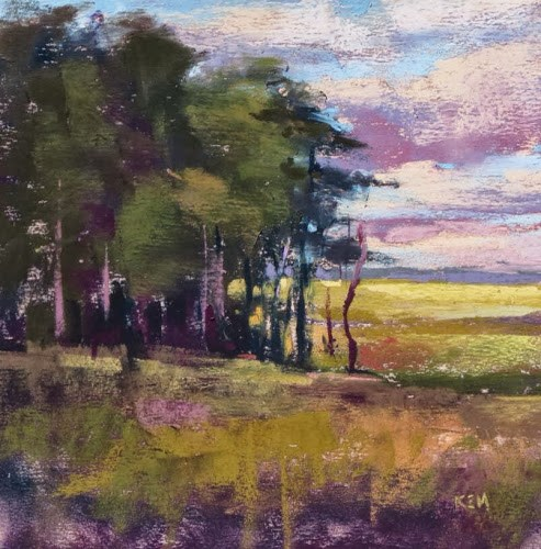"""Good Bye to Crow Creek...Day 3 Workshop Report"" original fine art by Karen Margulis"