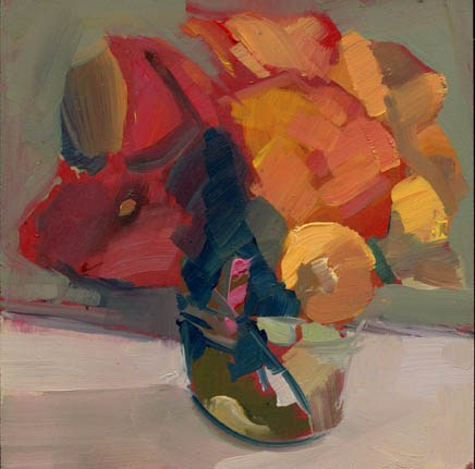 """1221 Thumbs"" original fine art by Lisa Daria"