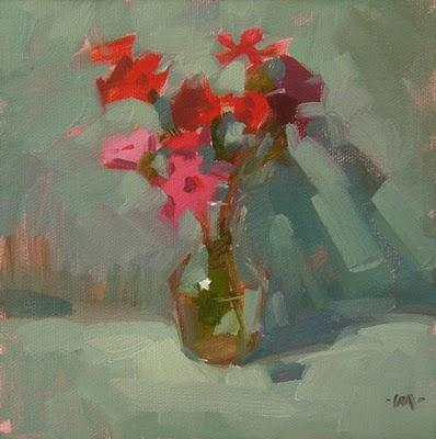 """Wildflowers"" original fine art by Carol Marine"