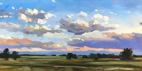 """Colorado Sky"" original fine art by Sharon Schock"
