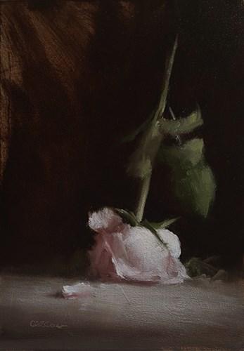 """Upturned Rose"" original fine art by Neil Carroll"
