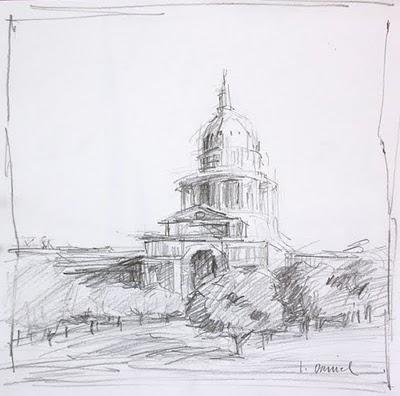 """26th World Wide SketchCrawl"" original fine art by Laurel Daniel"