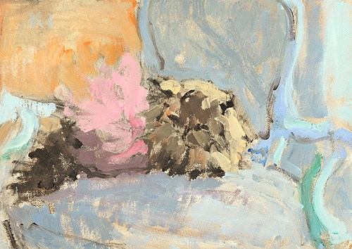"""Cat in Tutu Painting"" original fine art by Kevin Inman"