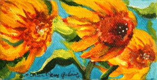 """""""Able to Bend"""" original fine art by JoAnne Perez Robinson"""