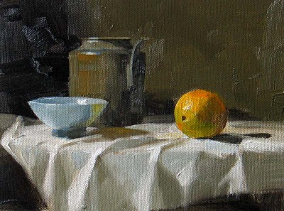 """""""Lonely --- Sold"""" original fine art by Qiang Huang"""