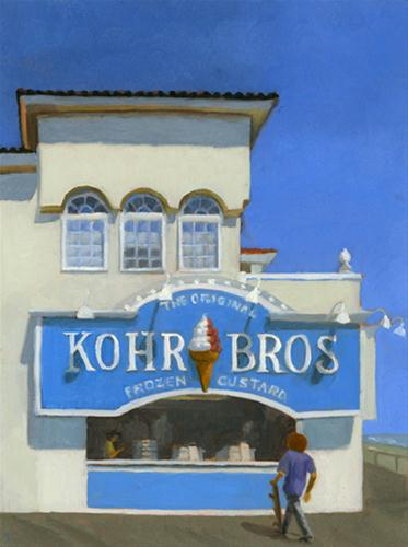 """""""KOHR BROTHERS"""" original fine art by Nancy Herman"""