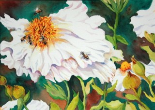 """Busy Bodies"" original fine art by JoAnne Perez Robinson"