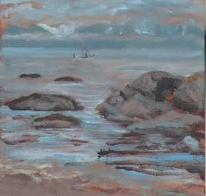 """Olympic Range"" original fine art by Darlene Young"