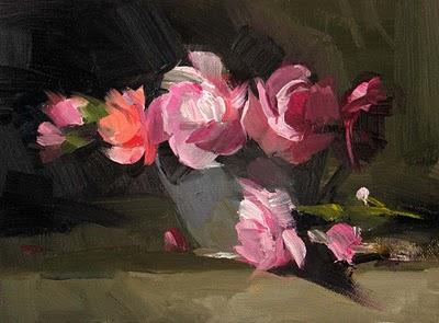 """Fascination"" original fine art by Qiang Huang"