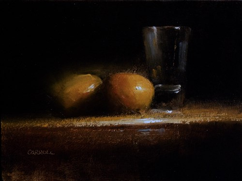 """""""Clementines and Glass"""" original fine art by Neil Carroll"""