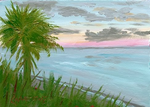 """""""Day 6 of Leslie's 30 day challenge"""" original fine art by Sue Furrow"""