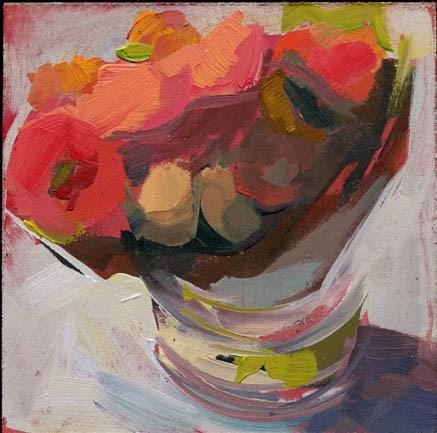 """1438 Float On"" original fine art by Lisa Daria"