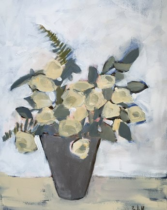 """Off White"" original fine art by Pamela Munger"